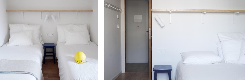 Habitación doble e individual